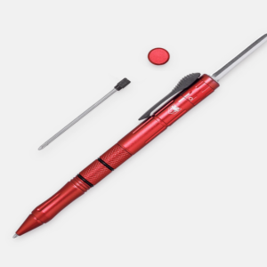 CobraTec OTF Red Pen Knife