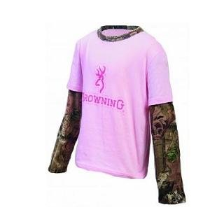 Browning Layered Tee, Youth