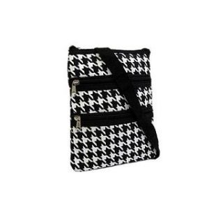 Messenger Bag, Houndstooth