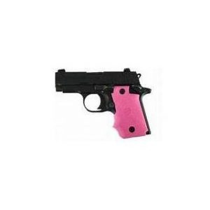 Hogue Grips Colt Govt 1911 Model Rubber Grip Pink